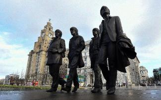 Beatles' statue 2015