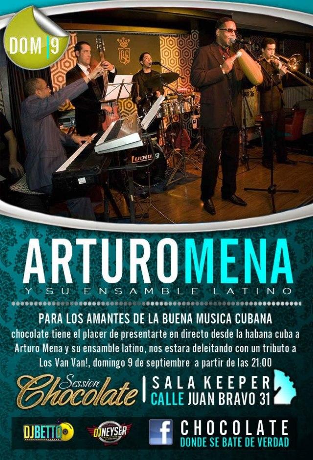 Arturo Mena y su Ensamble  Latino