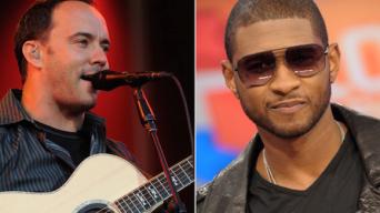 Dave Mathews & Usher 2