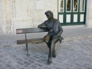 Estatua de Federico Chopin en La Habana