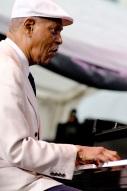 Mr McCoy Tyner in white