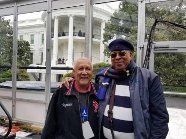 Paqman & Chucho white house