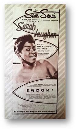 Cuando Sarah Vaughn canto en La Habana 1