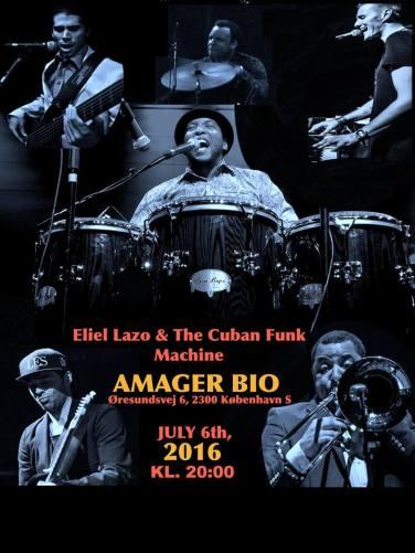 Eliel Lazo and The Cuban Funk Machine in Denmark