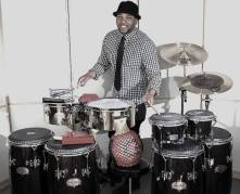 Eliel on timbales and set