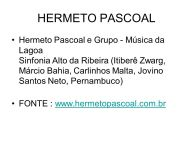 Hermeto Pascoal slide about concert