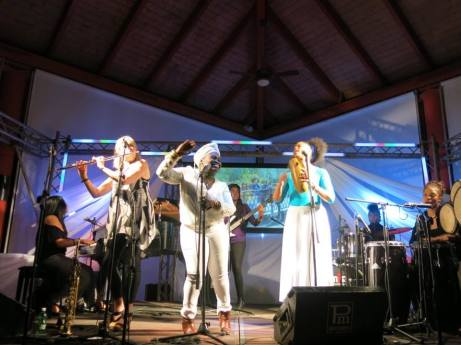 Jane Bunnett & Maqueque Cuban Jazz Safari Varadero 2016
