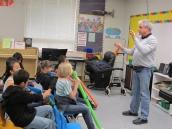 Jovino teaching kids