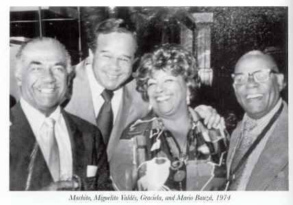 Machito Miguelito Graciela y Mario Bauza 1974