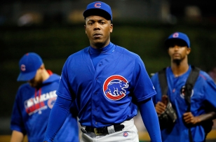 CHICAGO, IL - JULY 26: Aroldis Chapman #54 of the Chicago Cubs walks to the dugout after their loss to the Chicago White Sox at U.S. Cellular Field on July 26, 2016 in Chicago, Illinois. The Chicago White Sox won 3-0. (Photo by Jon Durr/Getty Images)