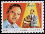 a-stamp-printed-in-cuba-dedicated-to-famous-cuban-musicians-shows-damaso-perez-prado-circa-1999