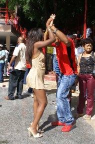 Bailadores en el Salon Rosado de la Tropical 02