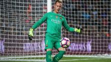 Barca FC goal keeper Stegen from Germany