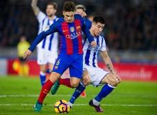 Barcelona FC Dennis Suarez es un delantero q deberia jugar mas porque anota goles