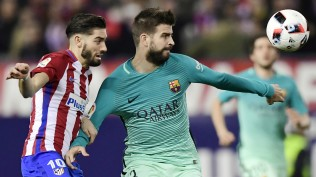 Barcelona FC gerard-pique green vs arrasco-atletico-madrid-barcelona-copa-del-rey