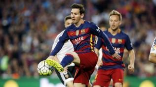 BARCELONA FC Messi & Rakitic -VALENCIA 05