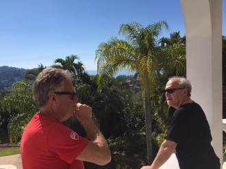 Chas Eller y Paul Asbel in San Pancho 2017