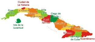 Cuba la Isla de la musica mapa-cuba-provincias