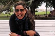 Edith Massola actriz y presentadora de la TV Cubana donde si no