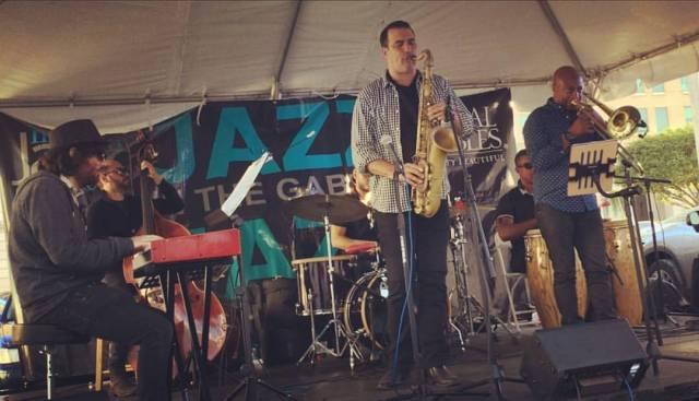 Felipe Lamoglia Sexteto @ Jazz in The Gables 2017