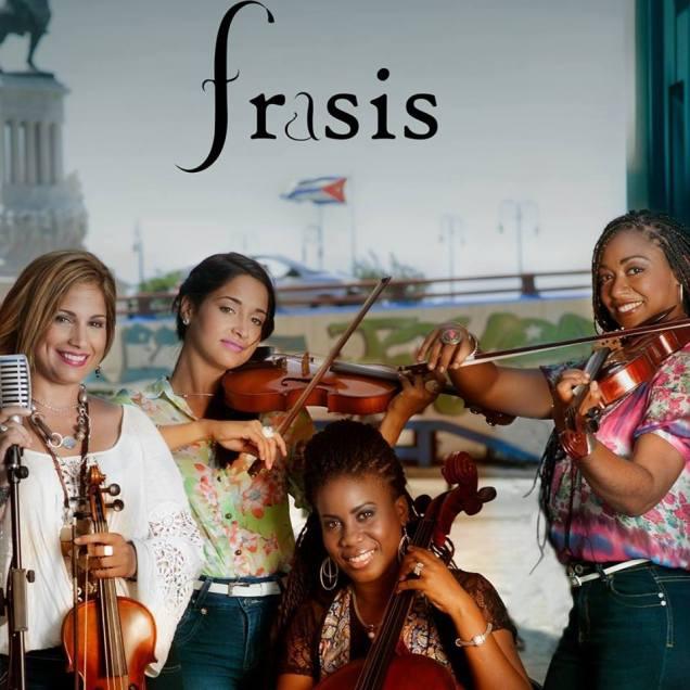 FRASIS Cuarteto de Cuerdas Portada del disco 2017