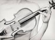 Frasis dibujo de un violin