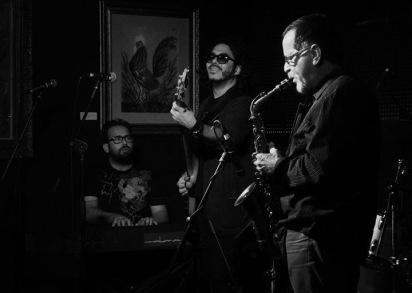 Los dos Manueles Valeras y Jose Gola en Habana 305 in Miami FL 2015