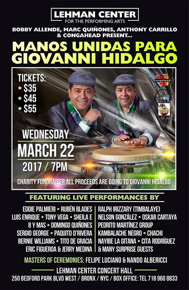 Manos Unidas para Giovanni Hidalgo 3 new