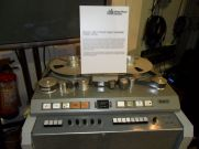 Studer J37 4 track tape recorder (1964-1972) Abbey Road Studios Sgt P's was recorded