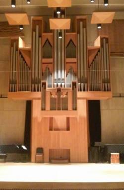 University of Vermont Recital Hall stage
