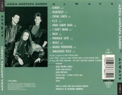 Aziza c Dave Weckl & John Patitucci CD Back in 1993