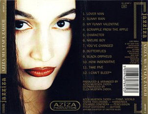 Aziza Quartet w Toots Thielmans & others CD Jazziza c Estandares de Jazz Americano