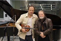 Gregor Huebner & Richie Beirach @ Bauer Studios in 2001