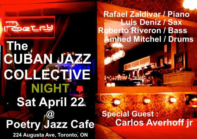 The Cuban Jazz Collective Amhed Mitchell 1