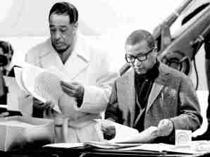 Duke Ellington (right) Billy Strayhorn (left)