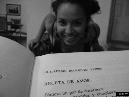 Guillermo Rodriguez Rivera y su libro Receta de amor