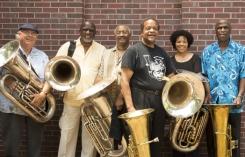 Howard Johnson leader of All Tuba Ensemble Gravity 2