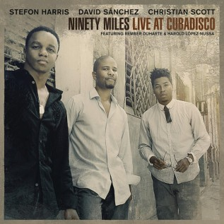 Ninety Miles Live at Cuba Disco CD front cover