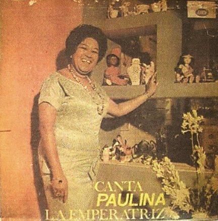 Paulina Alvarez La Emperatriz del Danzonete portada LP Canta Paulina