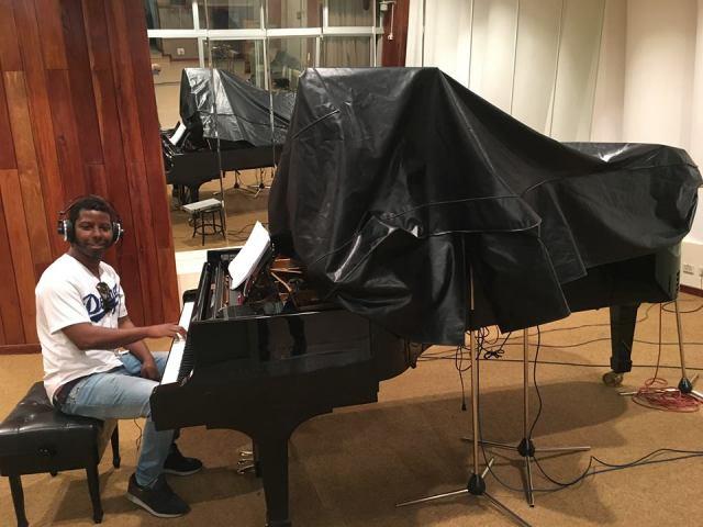 Rolando Luna en los Estudios Abdala