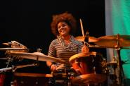 Yissy 2 on drums