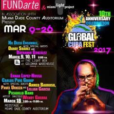 Carlos Puig @ Cuba Global Fest 2017 poster