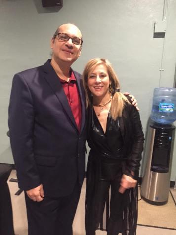Carlos Puig y la pianista Evita Garrucho