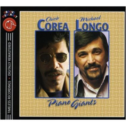 Chick Corea and Mike Longo Piano Giants