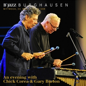 Chick Corea & Gary Burton live in Germany