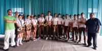 Jazz Band del Conservatorio Amadeo Roldan 2016 w 2 profesores