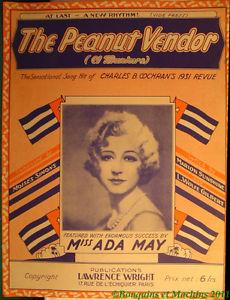 Miss Ada May The peanut vendor
