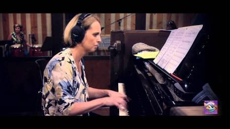 Monika Herzig at the piano