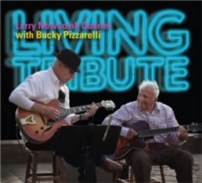 Newcomb w Bucky Pizzarelli -LIVING-TRIBUTE-Cover