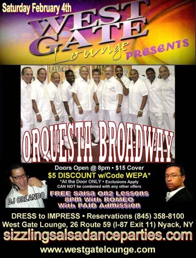Orquesta Broadway de Cuba y NY